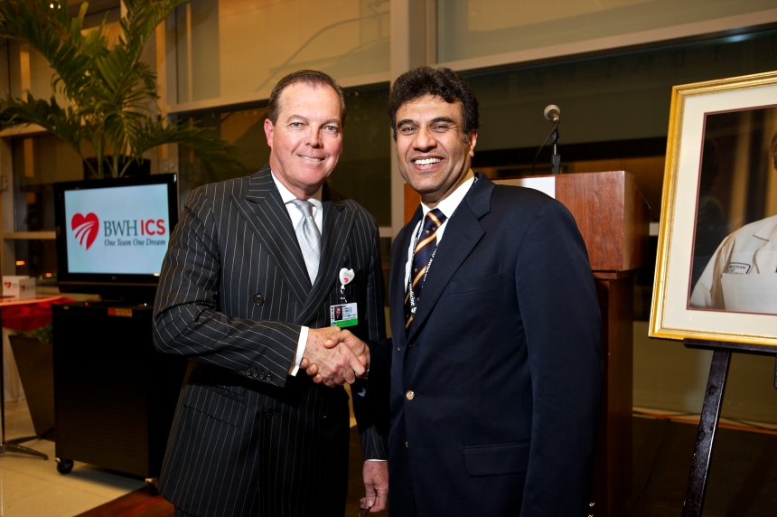 John Byrne, MD, and Mandeep Mehra, MD