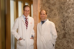 Paul M. Ridker, MD, director of the BWH Center for Cardiovascular Disease Prevention (pictured right), is leading the NIH-funded Cardiovascular Inflammation Reduction Trial with a team of BWH faculty including Samuel Z. Goldhaber, MD, director of the BWH Thrombosis Research Group (pictured left).