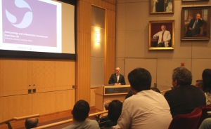 Leaders from BWH and Sanofi announced the launch of the Sanofi Innovation Program on June 10.