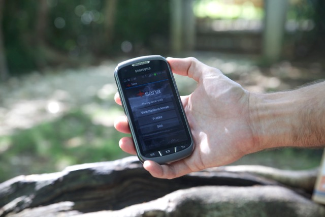 Smartphone application used by community health workers in Haiti to measure surgical outcomes.