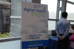 The Digital Health Expo, sponsored by Brigham Innovation Hub, took place on June 30 from noon—5p.m.