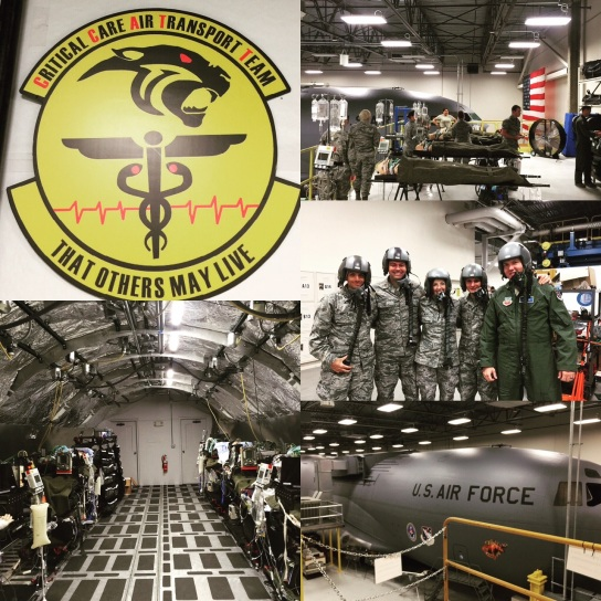 A roundup of photos from Vin Gupta, a third-year fellow in the Division of Pulmonary and Critical Care Medicine at BWH, showing his experiences as a reservist in the U.S. Air Force's Critical Care Air Transport Team.