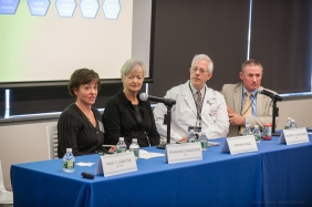 "20171109, Thursday, November 9, 2017, Boston, MA, USA, Brigham Health, Brigham and Women's Hospital and the Brigham Research Institute held their third annual Discover Brigham day-long campus-wide research day event on Thursday November 9, 2017. Announced during the Awards Ceremony Neurologist Ellen Bubrick, MD, of the Division of Epilepsy, captured the $100,000 BRIght Futures Prize with her research project titled ""Break The Shake: Ultrasound Treatment for Epilepsy"" ( 2017 © lightchaser photography )"
