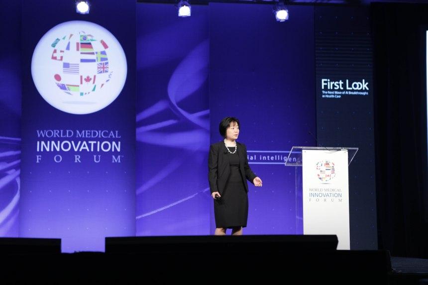 LI Zhou at the conference